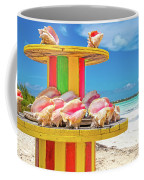 Turks And Caicos Conchs On A Spool Coffee Mug