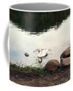 Twilight Swan Coffee Mug
