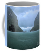 Twin Limestones Cruise Ships Ha Long Bay  Coffee Mug