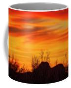 Twin Peaks Silhouette H1840 Coffee Mug by Mark Myhaver
