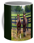Two Friends With Proverbs 18 Vs 24 Coffee Mug