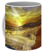 Twr Mawr Lighthouse Sunset Coffee Mug