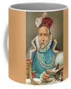 Tycho Brahe Illustration Coffee Mug