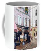 Un Artiste A La Place Du Tertre Paris. Coffee Mug