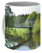 Union Chain Bridge At Horncliffe On River Tweed Coffee Mug