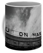 Union Market The Original Sign Washington Dc Coffee Mug by Edward Fielding