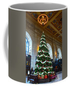 Union Station Decorates For Christmas In Kansas City Coffee Mug