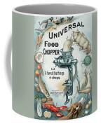 Universal Food Chopper No. 2  1899 Coffee Mug