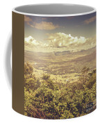 Up Above The Land Down Under Coffee Mug