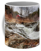 Upper Cox Brook Fall Covered Bridge Coffee Mug
