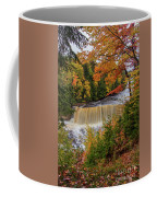 Upper Tahquamenon Autumn Colors -0007 Coffee Mug