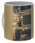 Us Army Jeep World War II Coffee Mug