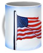 U.s. Flag 5 Coffee Mug