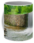 Valley Creek Waterfall Panorama Coffee Mug