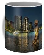 Vancouver Sunset Coffee Mug by Juan Contreras