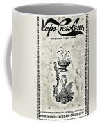 Vapo-cresolene Vaporizer Original Packaging Black And White Coffee Mug