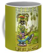Venice Beach Rasta Roller Coffee Mug
