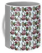 Victorian Girl Blue Coffee Mug