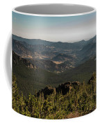 View From Flattop Mountain Trail Coffee Mug
