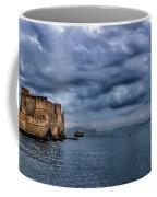 View Of Castel Dell Ovo  Coffee Mug