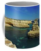 View Of Praia Deserta In Algarve Coffee Mug