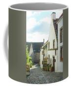 village cobbled lane in Culross Coffee Mug