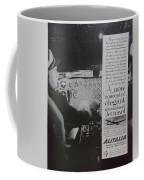 Vintage Alitalia Airline Advertisement Coffee Mug