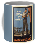 Vintage Poster - Make Every Minute Count Coffee Mug