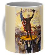 Vintage Poster - William Mckinley Coffee Mug
