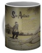 Vintage San Antonio Advertisement Coffee Mug