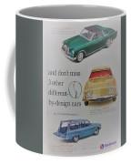 Vintage Studebaker Advertisement Coffee Mug