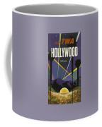 Vintage Travel Poster - Hollywood Coffee Mug