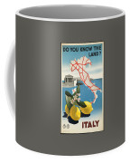 Vintage Travel Poster - Italy Coffee Mug