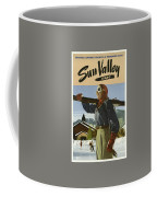 Vintage Travel Poster - Sun Valley, Idaho Coffee Mug