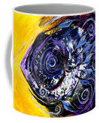 Violet Tri Fish Coffee Mug