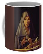 Virgin Annunciate By Messina Coffee Mug