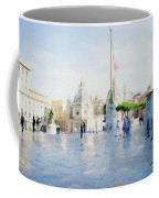 Vittorio Emanuele In Rain Coffee Mug