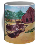 Wagons And Barns Coffee Mug