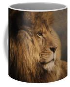Wait For The Answer - Wildlife Art Coffee Mug by Jordan Blackstone