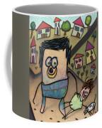 Walkin The Dog Coffee Mug