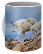 Walking The Ridge. Coffee Mug