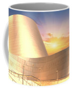 Wall Disney Concert Hall At Sunset Coffee Mug