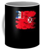 Wallis Futuna Shirt Gift Country Flag Patriotic Travel Oceania Light Coffee Mug