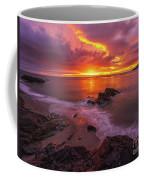 Washington Coast Sunset Serene Evening Coffee Mug