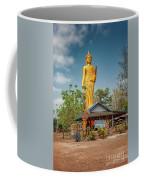 Wat Kham Chanot Golden Buddha Coffee Mug by Adrian Evans