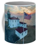 Watch Hill Lighthouse  Coffee Mug by Michael Hughes