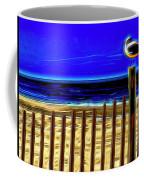 Watchin' The Tide Roll, Away Coffee Mug by Paul Wear
