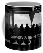 Watching The World  Coffee Mug by Mary Lee Dereske