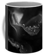 Water Droplets On A Rose Coffee Mug