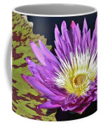 Water Lily On The Pond Coffee Mug